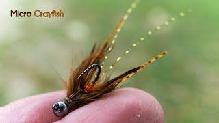 Micro Crayfish - Jigged Nymph And Streamer - McFly Angler Crawfish Fly Tying Tutorial