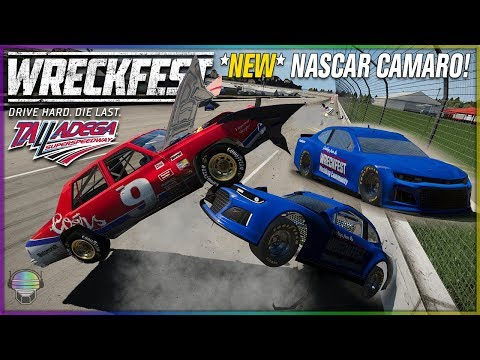 *NEW* NASCAR Camaro at Talladega! | Wreckfest | NASCAR Legends