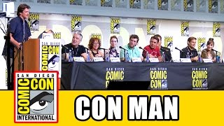 Comic Con 2016 | 'Con Man' Panel [F. Day & N. Fillion] (22.07.16)