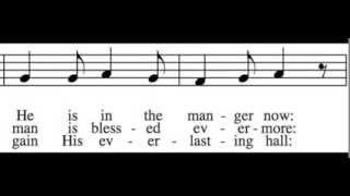 Good Christian Men, Rejoice - Soprano Only - Learn How to Sing Christmas Carols