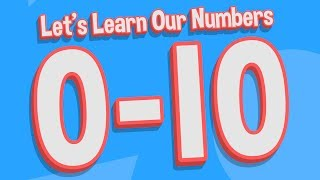 Let's Learn Our Numbers 0-10 | Counting Song for Kids | Jack Hartmann Writing Numbers