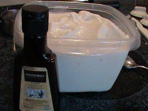 Video Rich and Creamy Vanilla Ice Cream