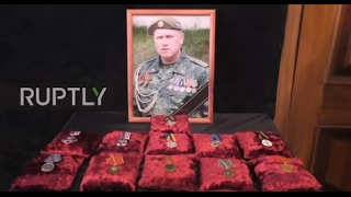 Ukraine: Lugansk mourns leading LPR fighter Oleg Anashchenko
