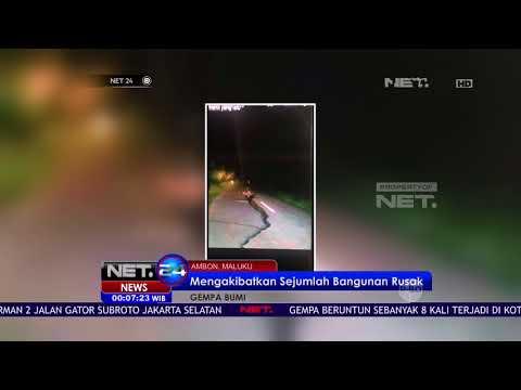 Bencana Gempa Bumi Terjang Kota Ambon - NET24