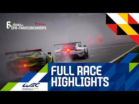 2020 WEC スパ・フランコルシャン6時間耐久レース レースハイライト動画