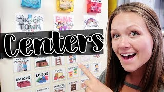 USING CENTERS AND STATIONS IN THE CLASSROOM | Teacher Vlog