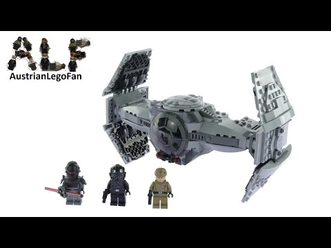 Vidéo LEGO Star Wars 75082 : Prototype TIE top secret