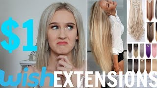 I WORE WISH HAIR EXTENSIONS FOR A WEEK