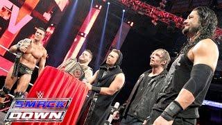"""""""Miz TV"""" with guests Reigns, Ambrose, Del Rio & Owens: SmackDown, Nov. 19, 2015"""