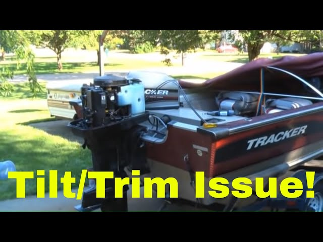 Power-tilt-trim-fix-on