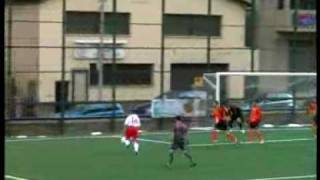 preview picture of video 'UE Sant Julià - FC Santa Coloma (play-off 2009/10)'