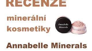 Velká recenze: Minerální kosmetika Annabelle Minerals