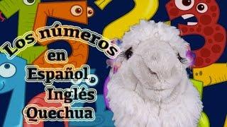 Aprende los números en 3 idiomas - Videos educativos infantiles -  Episodio 2/10