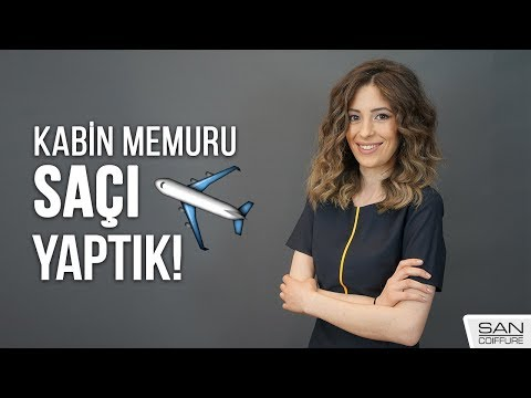 KABİN MEMURU ✈️ SAÇI  ( By Selami Ersoy )