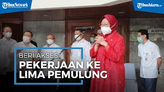 Hasil Blusukan di Jakarta, Mensos Tri Rismaharini Berikan Lima Pemulung Akses Pekerjaan
