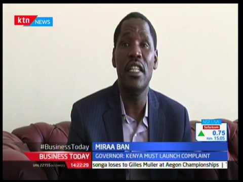 Governor Peter Munya has criticized countries that  have banned Miraa plant