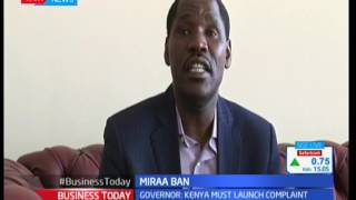 Governor Peter Munya criticizes countries that  have banned the Miraa crop