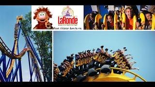 preview picture of video 'Parc  La Ronde  en famille. (Montréal QC)'