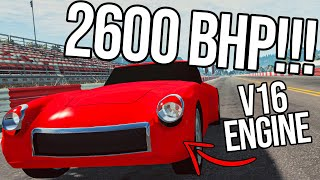 I Tried To Design The Fastest Car Possible (400MPH+!!!!!)