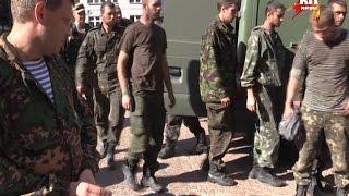 Украинские военные массово сдаются армии Новороссии