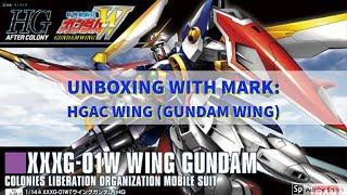 Unboxing HGAC Wing Gundam