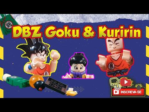 DBZ Goku & Kuririn - Em miniaturas