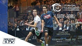 Squash: Farag v Momen - Tournament of Champions 2018 Semi-Final Roundup