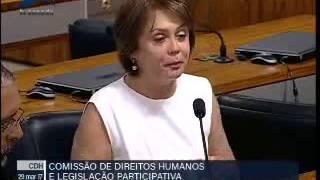 Ângela Portela é a única parlamentar de Roraima que é contra a reforma da Previdência