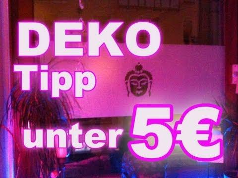 FENSTER DEKO TIPP unter 5 Euro Stylisch