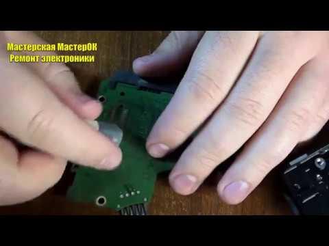 Диагностика жесткого диска Samsung 500Gb ластиком оживил, но поверхность разбита