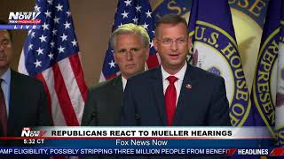 THERE WAS NO COLLUSION: Republicans react to Mueller hearings