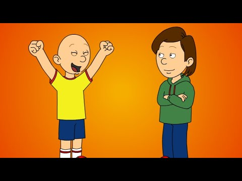 Caillou Gets Ungrounded For The First Time - RobloxFake_Guest