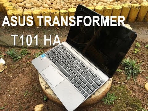 REVIEW ASUS T101HA - NOTEBOOK 2 IN 1 PORTABLE (INDONESIA)