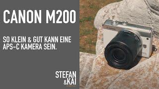 Canon EOS M 200 - Ist es die günstigste, kleinste & beste APS-C Kamera ?