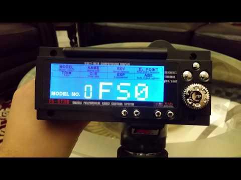 FlySky FS-GT3B radio control & GR3E receiver