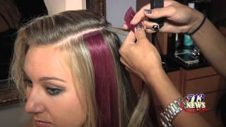 Beauty--Fun Hair Extensions That Add Color & Flair