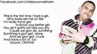 Chris Brown - Poppin' [Lyrics Video]