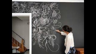 DIY Chalkboard Art For Walldecor