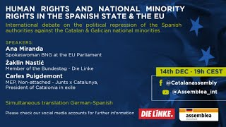 Human Rights and National Minority Rights in the Spanish State & the EU