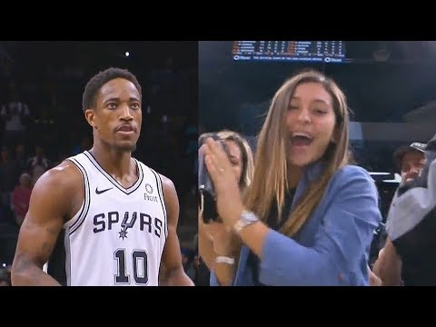 DeMar DeRozan Shocks Spurs Crowd After Taking Over In Final Minutes! Spurs vs Timberwolves