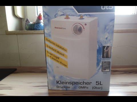 Boiler und Armatur einbauen-NIEDERDRUCK/DRUCKLOS