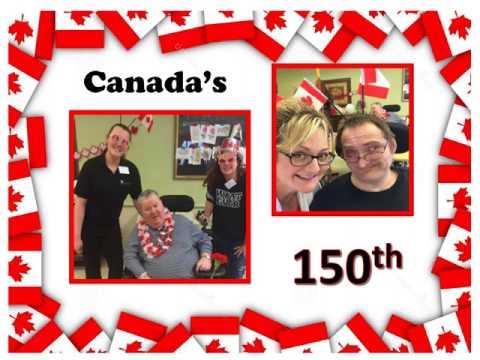 Elizabeth Centre Canada 150!