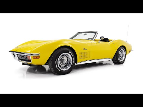 Video of Classic 1972 Chevrolet Corvette located in Saint Louis Missouri - QYC5