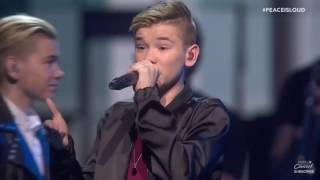 Marcus & Martinus live Without You and Bae | Nobel Peace Prize 2016