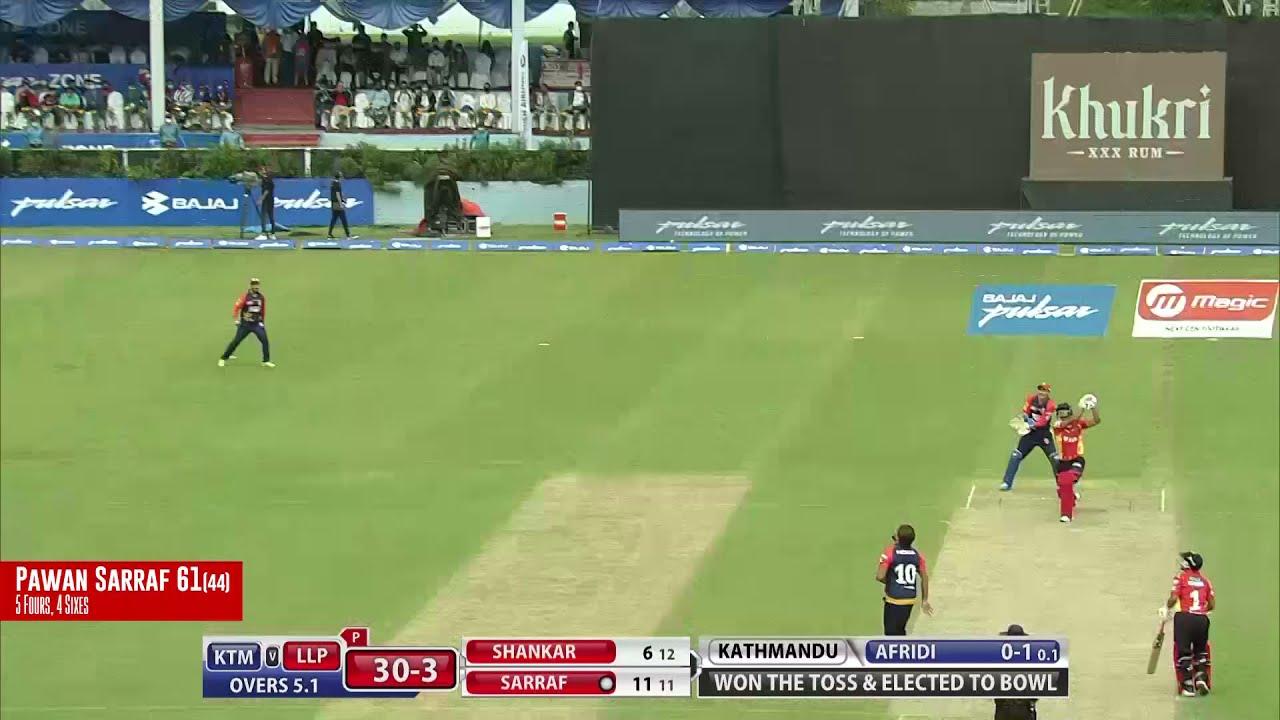 Pawan Sarraf's 61(44) vs Kings XI