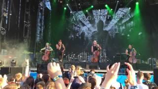 Apocalyptica - House of chains live @ Atlas Weekend 2016, Kyiv, Ukraine