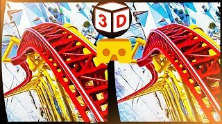 Roller Coasters VR Videos 3D SBS [Google Cardboard VR] Virtual Reality VR Box