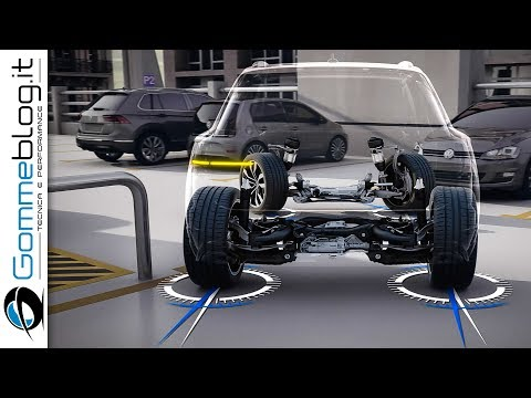 VW Touareg 2019 HOW ITS MADE The Interior TECHNOLOGY