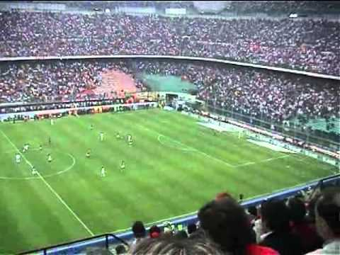 All Milanista in Sansiro - AC Milan vs Roma - 02/05/2004
