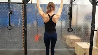 Kamloops Chiropractor | Movement Demo | Scapular Pull-ups